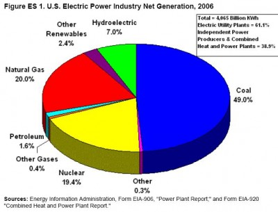 U.S. Electric Power Industry Net Generation, 2006