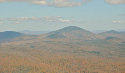AERIAL VIEW OF BALD MOUNTAIN WEST OF THE SENECAS - Photo by Steve Wright