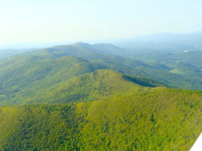 PITTSFORD RIDGE LOOKING TOWARD GRANDPA'S KNOB - ONE OF VERMONTS PROPOSED INDUSTRIAL WIND SITES - Near Rutland, Vermont - Photo by Vermonters for a Clean Environment